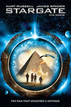 Stargate movie poster.