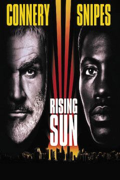 Poster for the movie Rising Sun