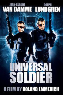 Poster for the movie Universal Soldier
