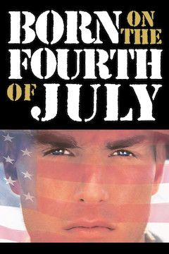 Born on the Fourth of July movie poster.