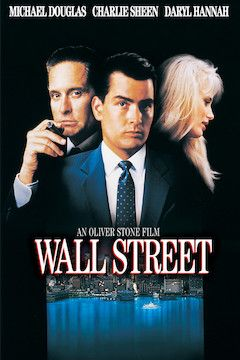 Wall Street movie poster.