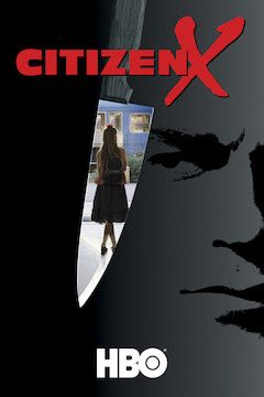 Citizen X movie poster.