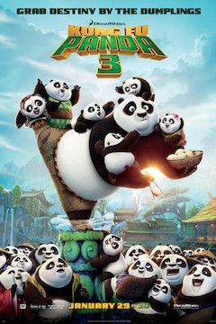 Kung Fu Panda 3 movie poster.
