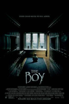The Boy movie poster.