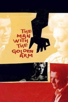 The Man With the Golden Arm movie poster.