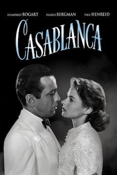 Casablanca movie poster.