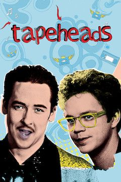 Tapeheads movie poster.