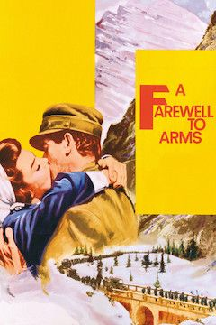 Poster for the movie A Farewell to Arms