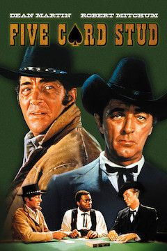 Five Card Stud movie poster.