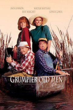 Grumpier Old Men movie poster.