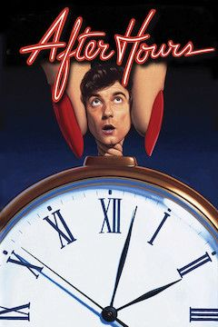 After Hours movie poster.