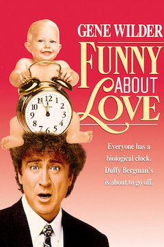 Funny About Love movie poster.