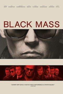 Black Mass movie poster.