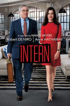 The Intern movie poster.