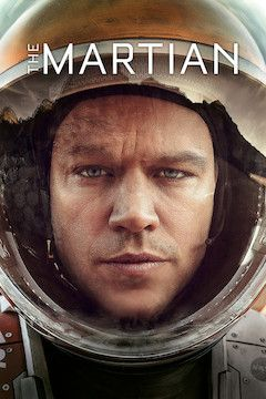 The Martian movie poster.