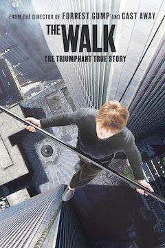 The Walk movie poster.