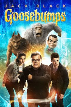 Goosebumps movie poster.