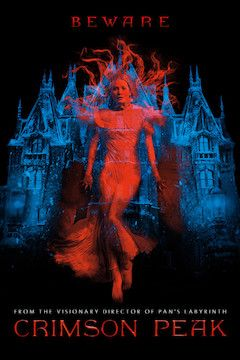 Crimson Peak movie poster.