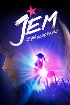 Jem and the Holograms movie poster.