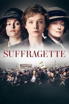 Suffragette movie poster.