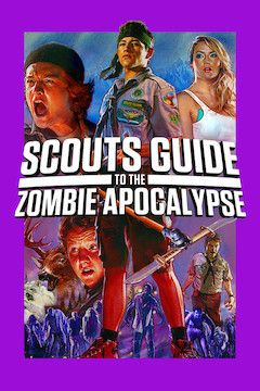 Scouts Guide to the Zombie Apocalypse movie poster.