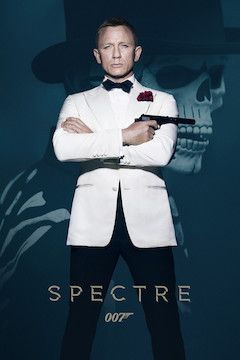 Spectre movie poster.