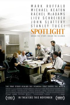 Spotlight movie poster.