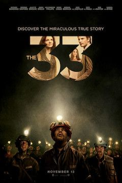 Poster for the movie The 33