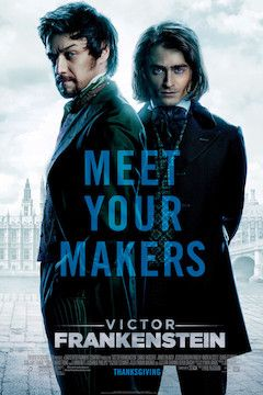Victor Frankenstein movie poster.