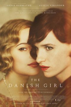 The Danish Girl movie poster.