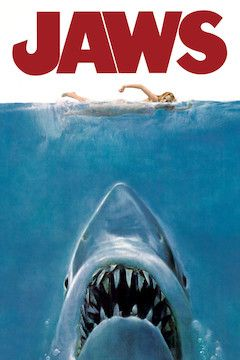 Jaws movie poster.