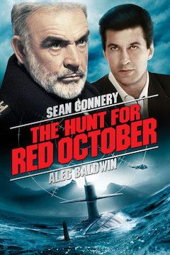 The Hunt for Red October movie poster.