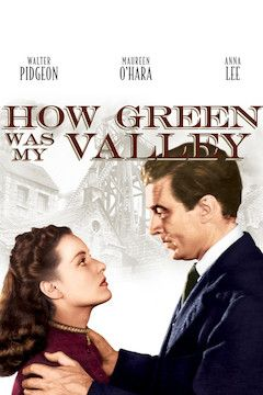 How Green Was My Valley? movie poster.