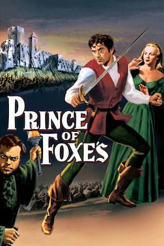 Prince of Foxes movie poster.