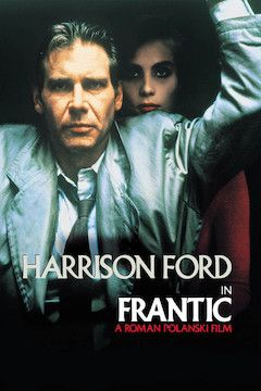 Poster for the movie Frantic