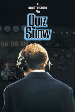 Quiz Show movie poster.