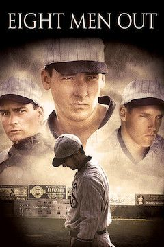 Eight Men Out movie poster.