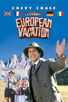 Poster for the movie National Lampoon's European Vacation