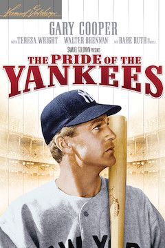 The Pride of the Yankees movie poster.