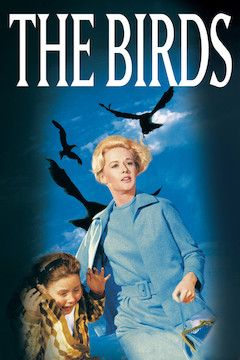 The Birds movie poster.
