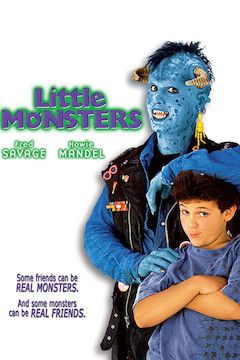 Little Monsters movie poster.