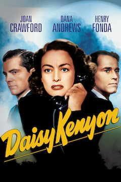 Daisy Kenyon movie poster.