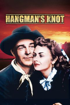 Hangman's Knot movie poster.