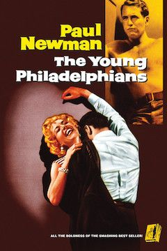 The Young Philadelphians movie poster.