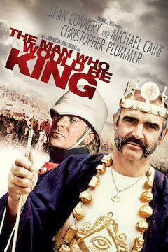 The Man Who Would Be King movie poster.