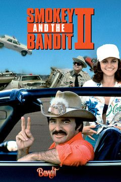 Smokey and the Bandit II movie poster.