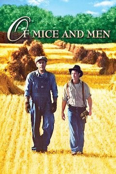 Of Mice and Men movie poster.