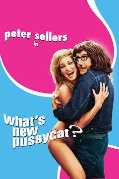 What's New Pussycat? movie poster.