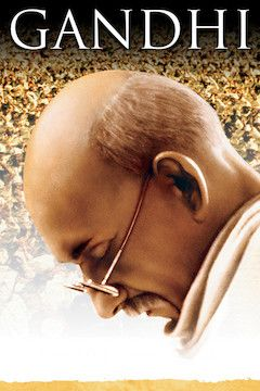 Gandhi movie poster.