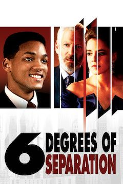 Six Degrees of Separation movie poster.